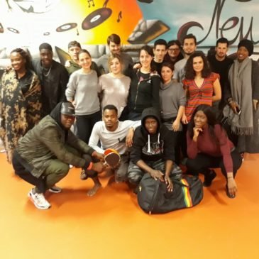 "Memories from Paris' Youth Exchange ""Sound of diversity"""