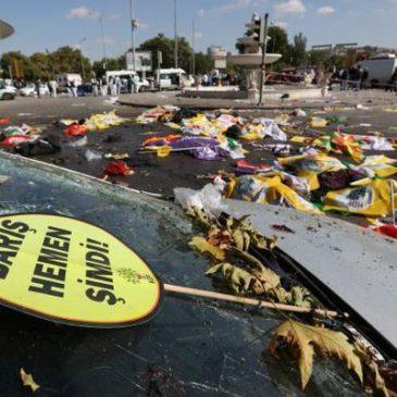 La H.R.Y.O. Human Rights Youth Organization, vicina alle vittime della manifestazione di Ankara