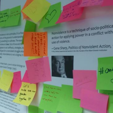 "la H.R.Y.O. partecipa al progetto "" Towards a Nonviolente World"" finanziato dal programma Erasmus+"