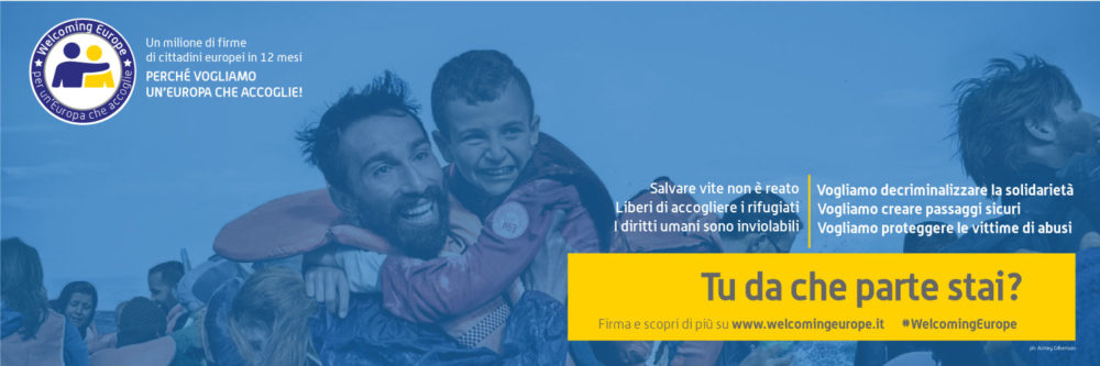 """(Italiano) """"Welcoming Europe"""": uno strumento di democrazia partecipativa per un'Europa più accogliente"""