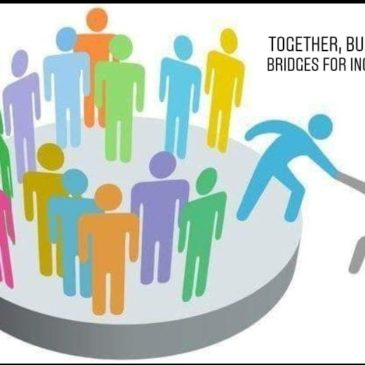 "Cerchiamo 2 partecipanti per il training course: ""Together, built the bridges for inclusion"" 19-27 Novembre a Poitiers, in Francia"