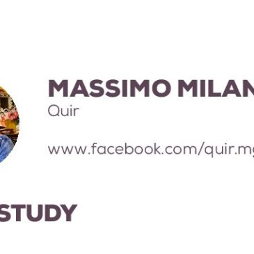 Massimo Milano with Quir: a success story enhanced by the project Pandora
