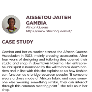 (English) Aissetou Jaiteh Gambia: a success story enhanced by the project Pandora