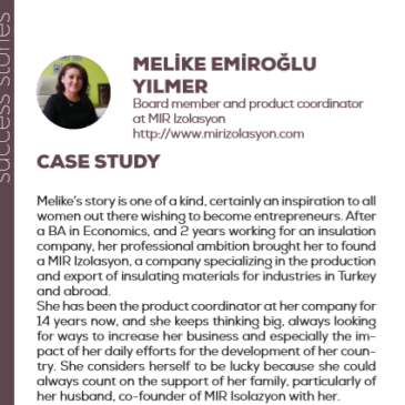 (English) Melike Emiroǧlu YIlmer with MIR Izolasyon: a success story enhanced by the project Pandora