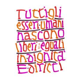 Poster Art.1 italiano (V2)